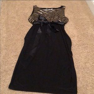Jules and Jim maternity evening dress gown large